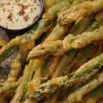 Asperges: jamais essayé frites?  Recette