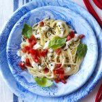 Les spaghettis aux tomates fraîches de Vittoria Ferragamo (et pas seulement ...)