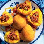 Recette Arancini de riz avec sauce à la viande