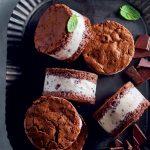 Recette de biscuits Sacher avec crème glacée
