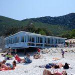"""le plus beau """"kiosque"""" sur la plage d'Italie"""