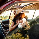 La légèreté nécessaire (nourriture) de ceux qui voyagent en voiture
