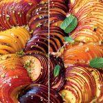 Focaccia aux pêches et prunes recette