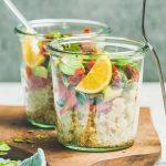 Salade de quinoa au goût d'été, la schiscetta légère parfaite!