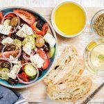 Salade grecque: voici comment elle est préparée!