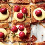 Recette de pâte feuilletée à la crème et aux cerises