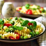 Pâtes froides végétariennes: idées et recettes