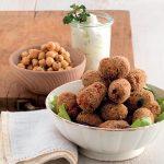Boulettes de viande et croquettes savoureuses: faisons-les avec des pois chiches!