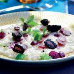 Recette de risotto aux raisins et mûres