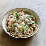 Spaghetti au crabe, citron et soja: la recette