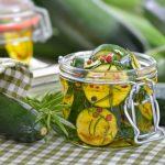 Comment faire des courgettes à l'huile