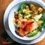 Recette Cuisses de canard au crumble d'avoine