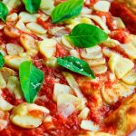 Pizza à l'aloe vera, légère et digeste