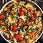 Recette Tiella de riz, pommes de terre et moules, la recette des Pouilles