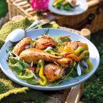 recette Poulet aux poivrons